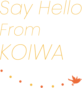 Say Hello From KOIWA